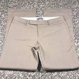 GAP Modern Boot Tan Dress Pants Size 6A
